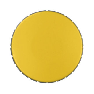 BANANA YELLOW (a solid fruity color) ~~ Candy Tin