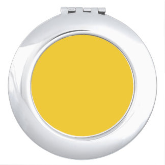BANANA YELLOW (a solid fruity color) ~~ Vanity Mirrors