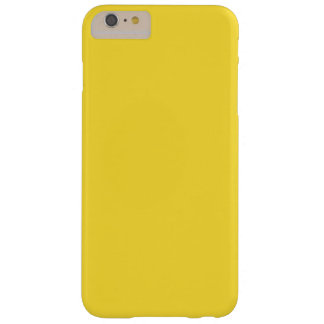 Banana Yellow Barely There iPhone 6 Plus Case