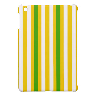 Banana Yellow Stripe iPad Mini Cover
