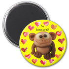 Bananas 4 U Love Monkey Personalised Magnets