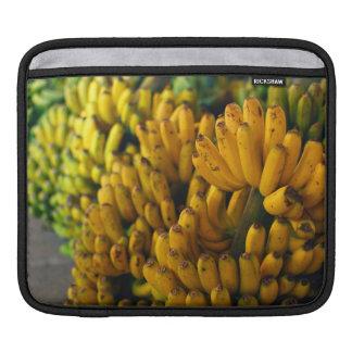 Bananas at night iPad sleeve