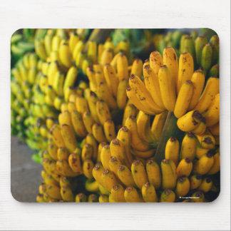 Bananas at night mouse pad