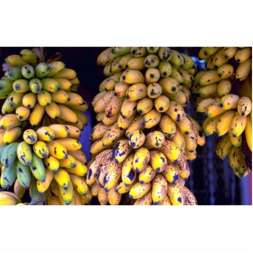 Bananas for sale at market, Puerto Rico Photo Cutouts