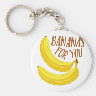 Bananas For You Key Ring