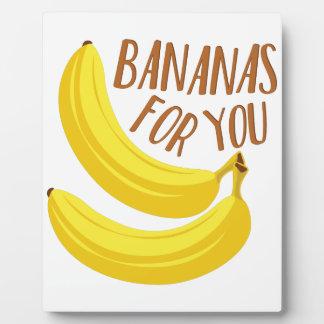 Bananas For You Plaque