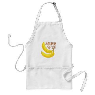 Bananas For You Standard Apron