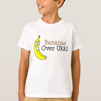 Bananas Over Ukki T-Shirt
