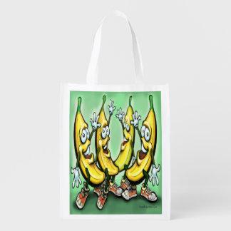 Bananas Reusable Grocery Bag
