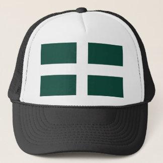 banat region flag trucker hat