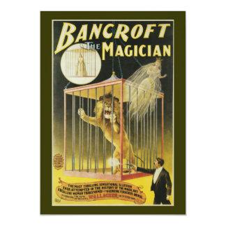 Bancroft the Magician c 1897 13 Cm X 18 Cm Invitation Card
