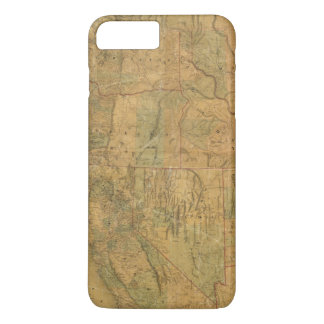 Bancroft's Map Of The Pacific States iPhone 7 Plus Case