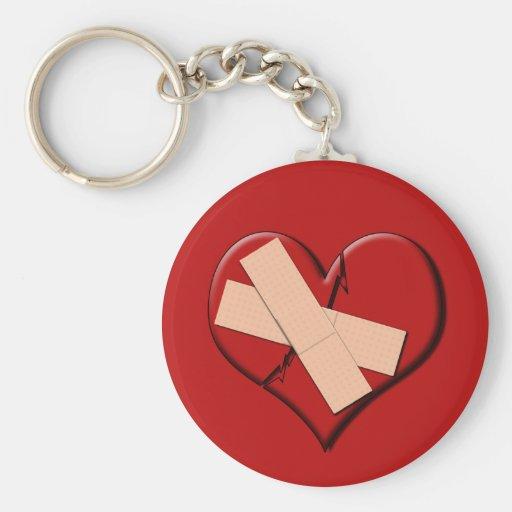 Band Aid Heat Key Chain
