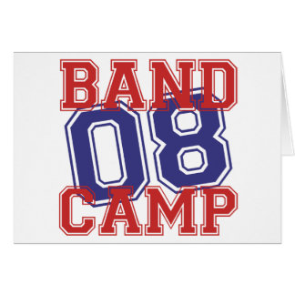 Band Camp 08 Greeting Card