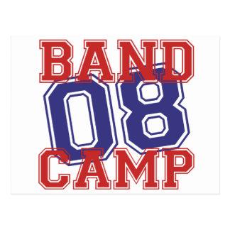 Band Camp 08 Postcard