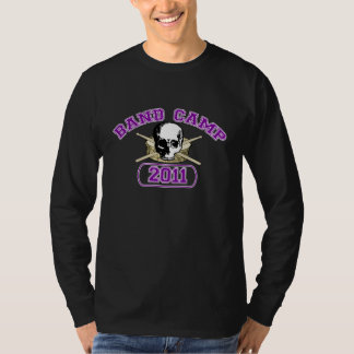 Band Camp - Hardcore - Drum – Purple T-Shirt
