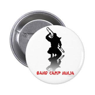 Band Camp Ninja Pins