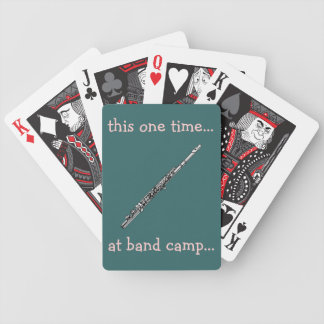 Band Camp Playing Cards