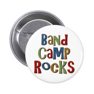 Band Camp Rocks Pin