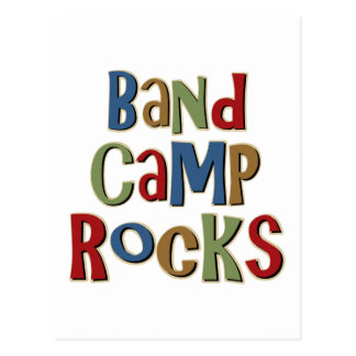 Band Camp Rocks Postcard