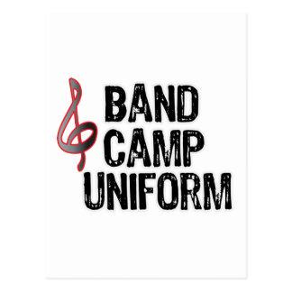 Band Camp Uniform Postcards