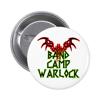 Band Camp Warlock 6 Cm Round Badge