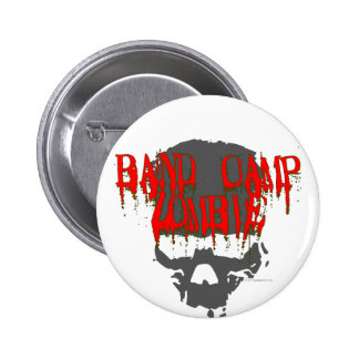 Band Camp Zombie 6 Cm Round Badge