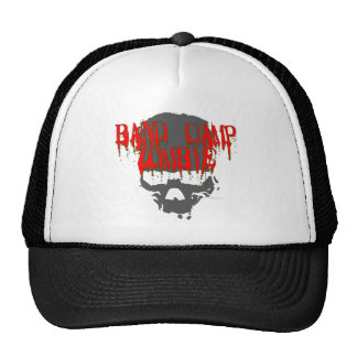 Band Camp Zombie Mesh Hats