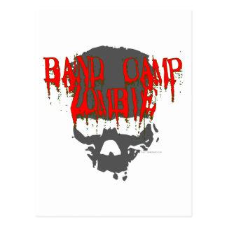 Band Camp Zombie Postcard