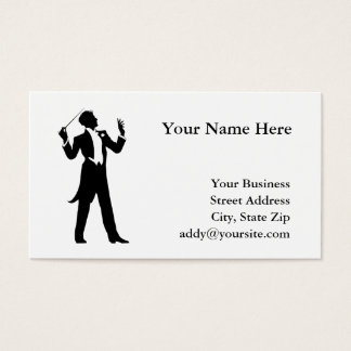 Band Conductor Business Card