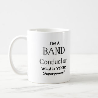 Band conductor coffee mug
