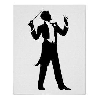 Band Conductor Poster