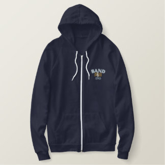 Band Dad Embroidered Hoodie