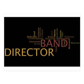 Band Director Postcard