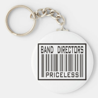 Band Directors Priceless Basic Round Button Key Ring