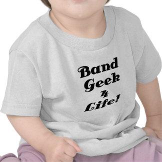 Band Geek 4 Life Tee Shirt