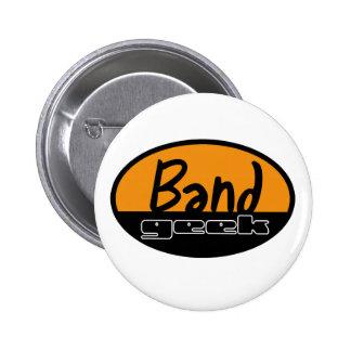 Band Geek Pinback Button