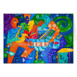 """""""Band Groove"""" Original painting by R.A.Brown©"""