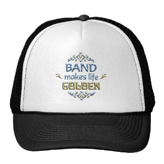BAND is Golden Mesh Hats