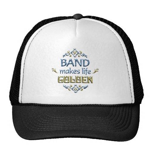 BAND is Golden Mesh Hats