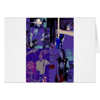 Band live July 2009 Greeting Card