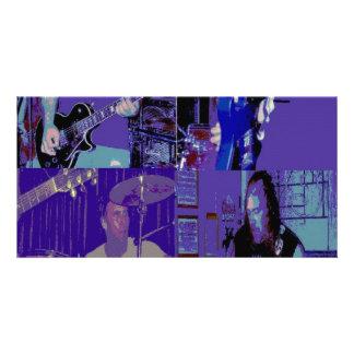 Band live July 2009 Custom Photo Card