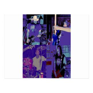 Band live July 2009 Postcard