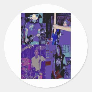 Band live July 2009 Round Sticker