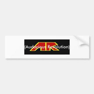 Band Logo Banner Audacious Revolution Bumper Stickers