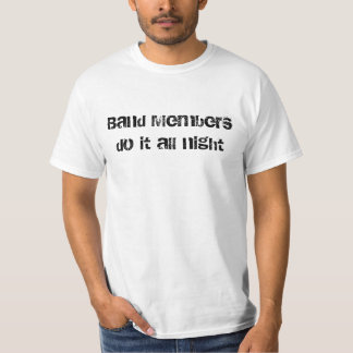 Band members do it all night tees