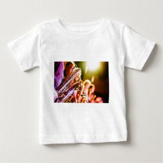 Band Music Musical Instruments Saxophones Horns Baby T-Shirt