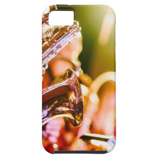Band Music Musical Instruments Saxophones Horns iPhone 5 Case