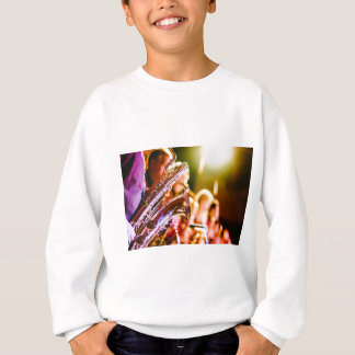 Band Music Musical Instruments Saxophones Horns Sweatshirt