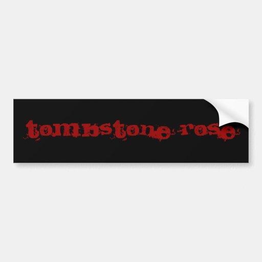 Band Name Bumper Sticker